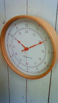 スクール サークル時計