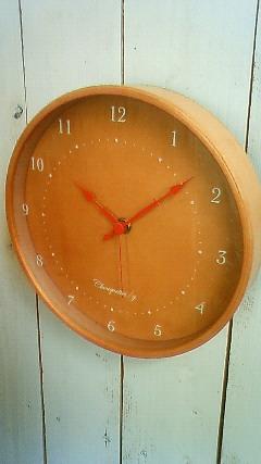 シンプル サークル掛け時計