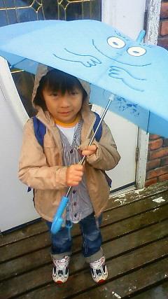バーバパパの傘
