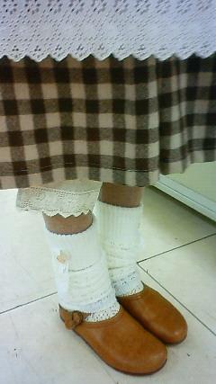 cotton fairyさんのレッグウォーマー