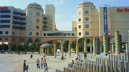 会場外の広場