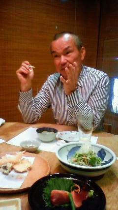 アクシス社長と晩ご飯