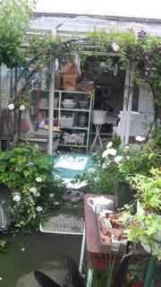 隣のオープンガーデン!東京都安西邸