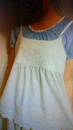 cotton fairy新作キャミソール