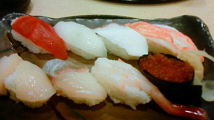 北海道最後の食事は、お寿司!