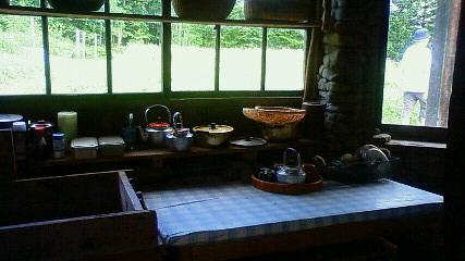 石の家の台所
