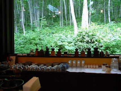 森の時計 昼の風景