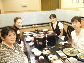 ヒルトン東京でお食事会