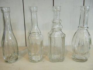 アンティーク調 ガラスボトル