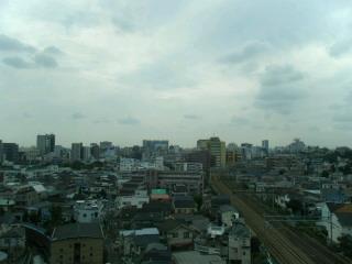 10月9日(<br />  火)東京の空